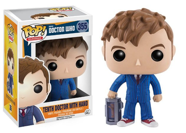Doctor Who Tenth Doctor with Hand Pop - Funko