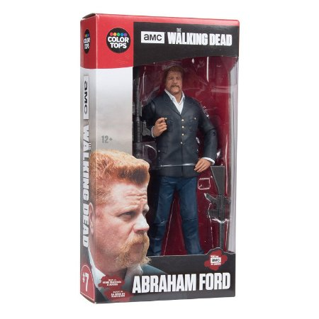 The Walking Dead Color Tops Abraham Ford - McFarlane Toys