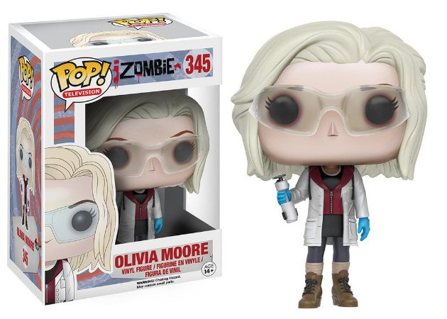 iZombie Olivia Moore with Glasses Pop - Funko