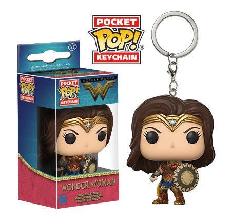 Chaveiro Wonder Woman Pocket Pop - Funko