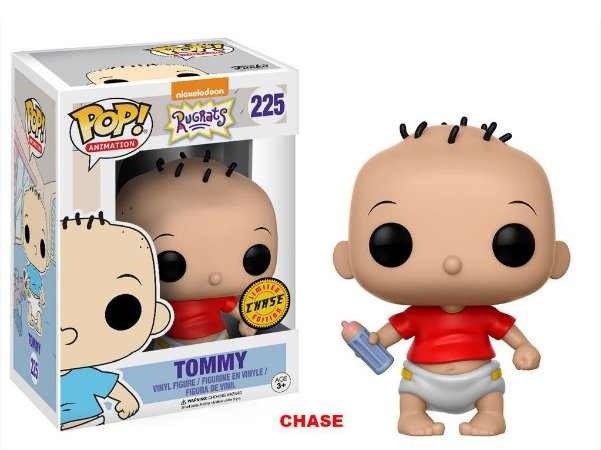 Os Anjinhos Rugrats Tommy Chase Limited Edition Pop - Funko
