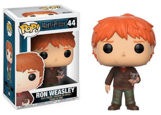 Harry Potter Ron Weasley with Scabbers Pop - Funko