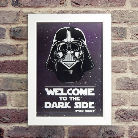 Quadro Welcome to the Dark Side