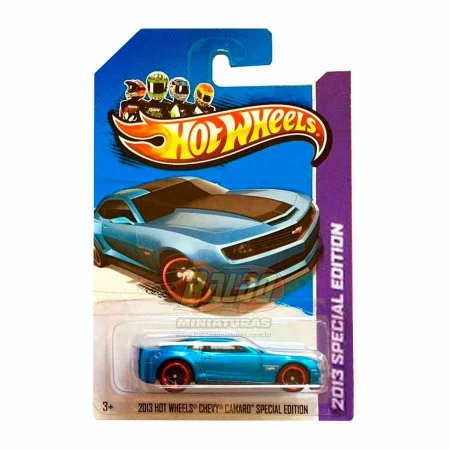 Hot Wheels - 2013 Special Edition - Chevy Camaro - Azul