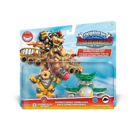 Skylanders Superchargers Combo Pack Bowser and Clown Cruiser