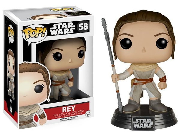 Pop Star Wars Episode VII Pop! Rey 58