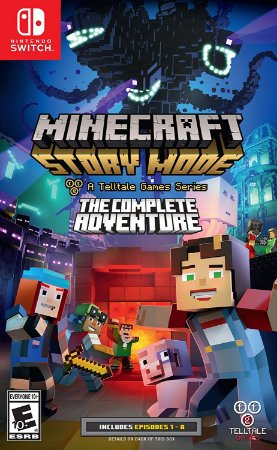 Nintendo Switch Minecraft Story Mode The Complete Adventure