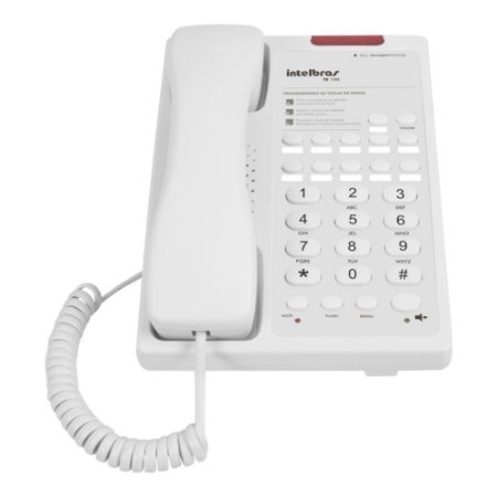Telefone Executivo Intelbras Te 100 Branco