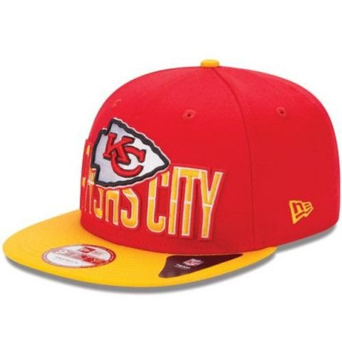 Boné Kansas City Chiefs DRAFT15 950 Snapback - New Era