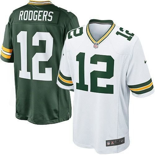Camisa Green Bay Packers Aaron Rodgers #12 Game