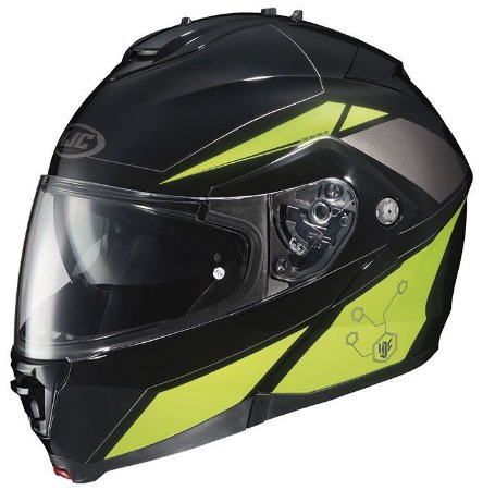 Capacete Hjc Is-Max II Elemental Green Robocop