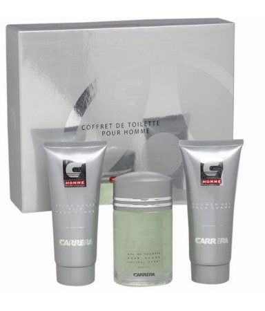 Kit  Carrera Tradicional Masculino-Perfume  EDT 100ml + After Shave 200ml + Shower Gel 200ml