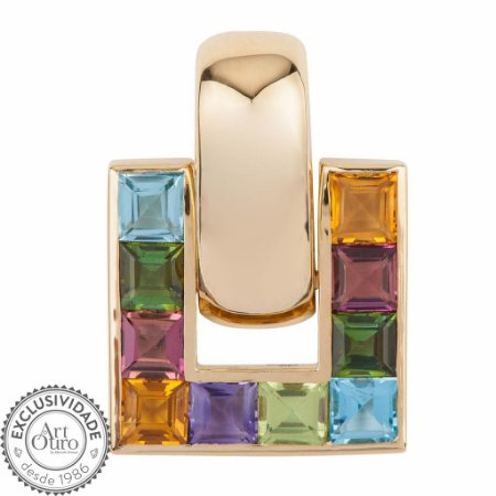 Pingente - mix - Ouro 18k
