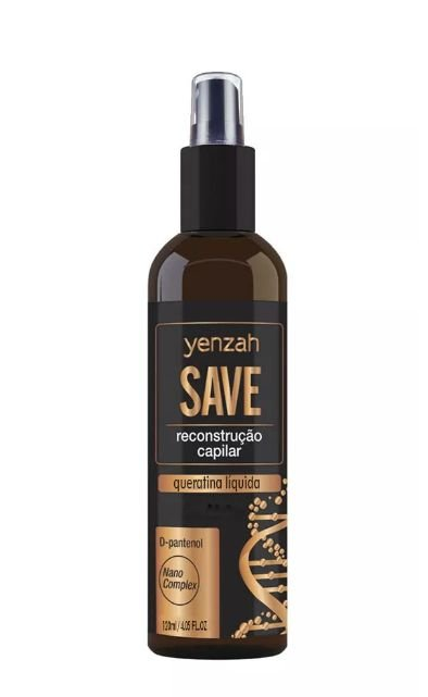 Yenzah SAVE - Queratina Líquida - 120ml