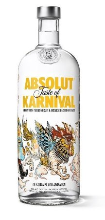 Vodka Absolut Karnival - 1L