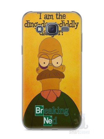 Capa Capinha Samsung J5 Homer Simpson Breaking Bad