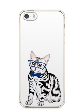 Capa Iphone 5/S Gato Estiloso