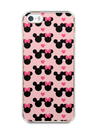 Capa Iphone 5/S Mickey e Minnie
