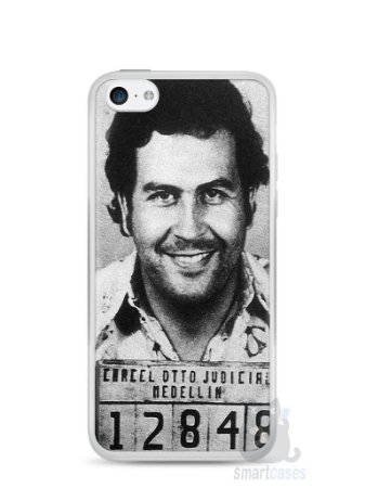 Capa Iphone 5C Pablo Escobar