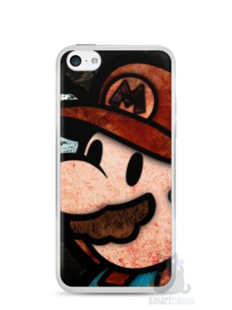 Capa Iphone 5C Super Mario #2