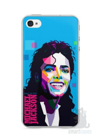 Capa Iphone 4/S Michael Jackson #2