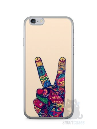 Capa Iphone 6/S Paz e Amor
