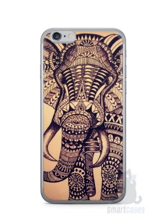 Capa Iphone 6/S Elefante Tribal