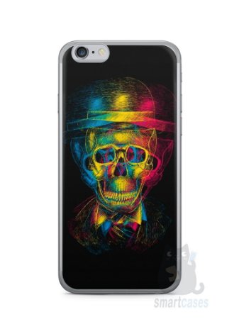Capa Iphone 6/S Caveira #7