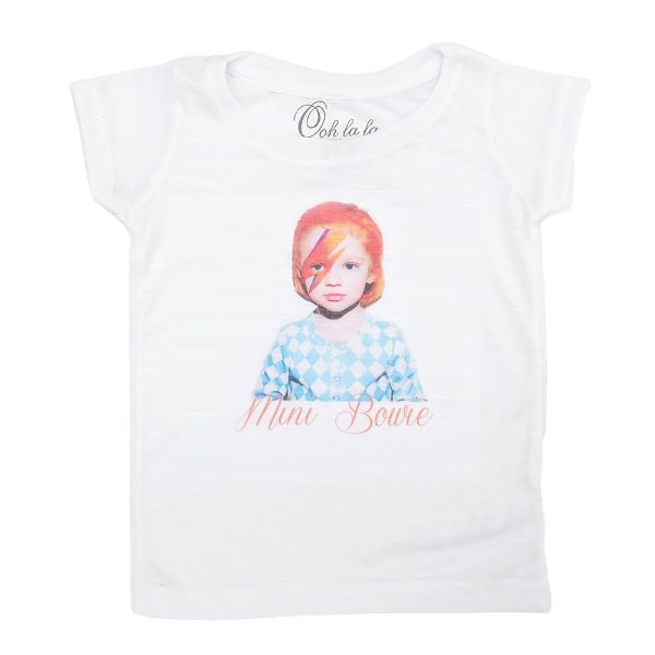 T-shirt Flamê Mini Bowie