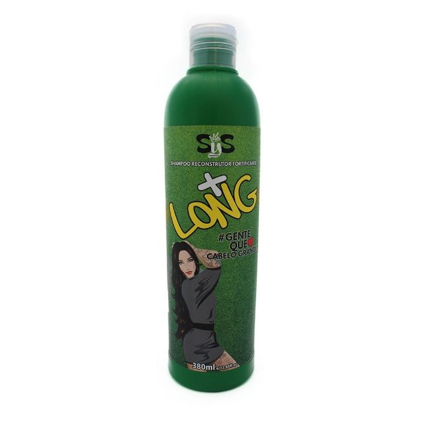 + Long Shampoo Reconstrutor Fortificante 380ml - Sys Cosmetics