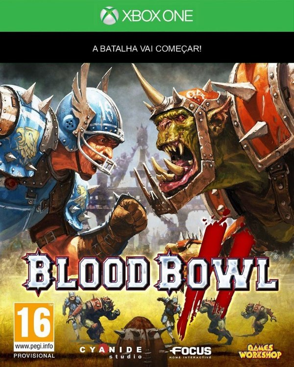 Blood Bowl 2 - Xbox One - Mídia Digital