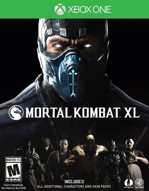 Mortal Kombat XL - Xbox One - Mídia Digital