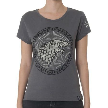 Camiseta Feminina Game of Thrones Stark