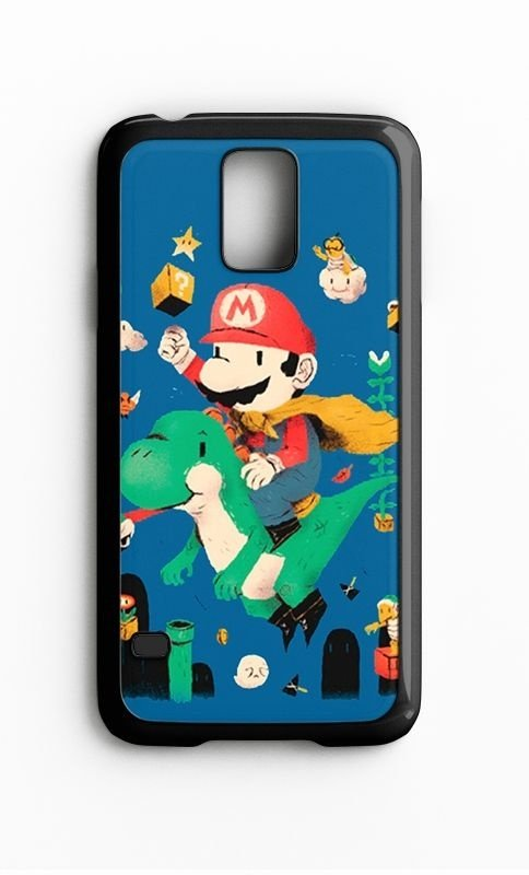 Capa para Celular Super Mario Word Galaxy S4/S5 Iphone S4