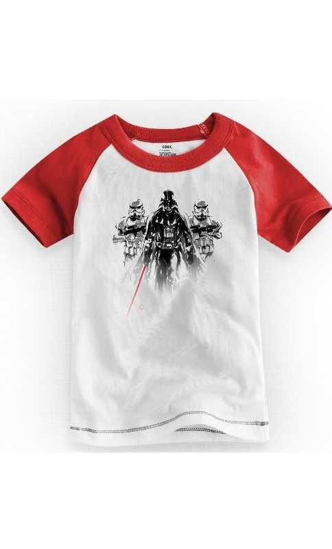 Camiseta Infantil Star Wars Imperial 1