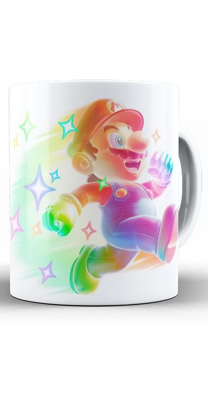 Caneca Super Mario Bright