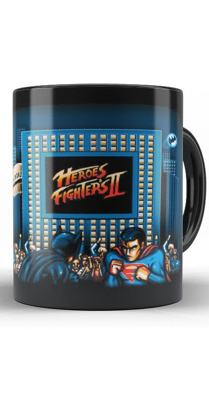 Caneca Heroes Fighters 2