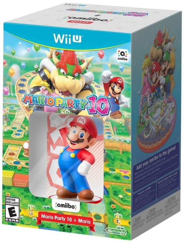 Mario Party 10 Amiibo Super Mario - Wii U