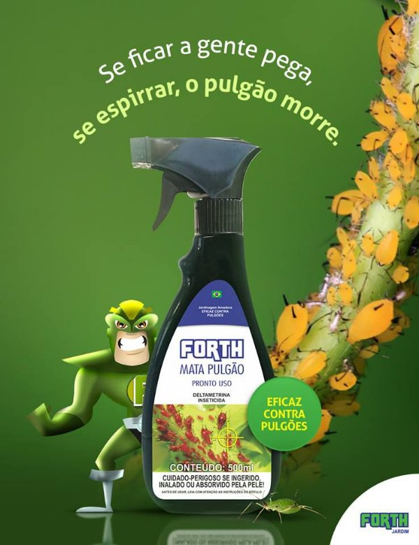 Forth Mata Pulgão - Pronto Uso - 500ML