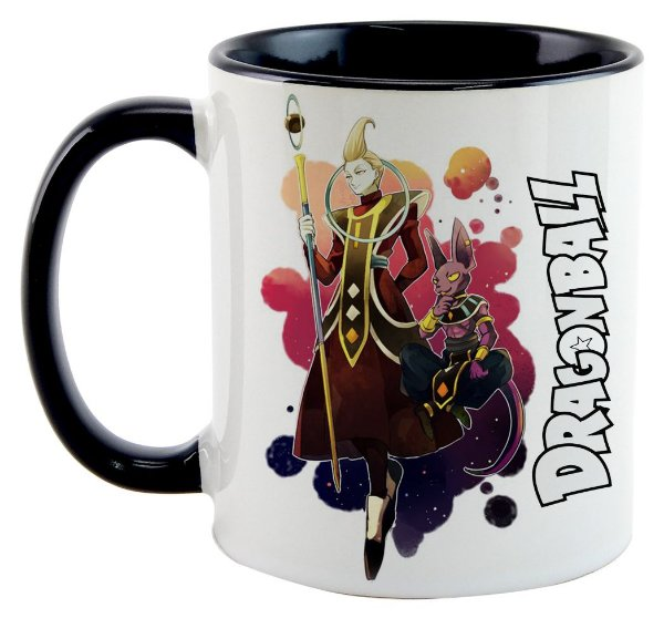 Caneca - Dragon Ball - Blis e Whis