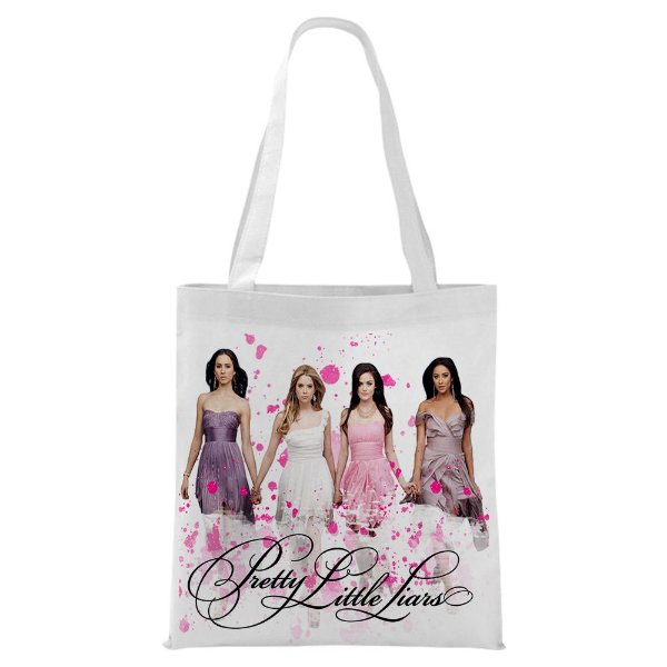 Ecobag - Pretty little Liars - Pink