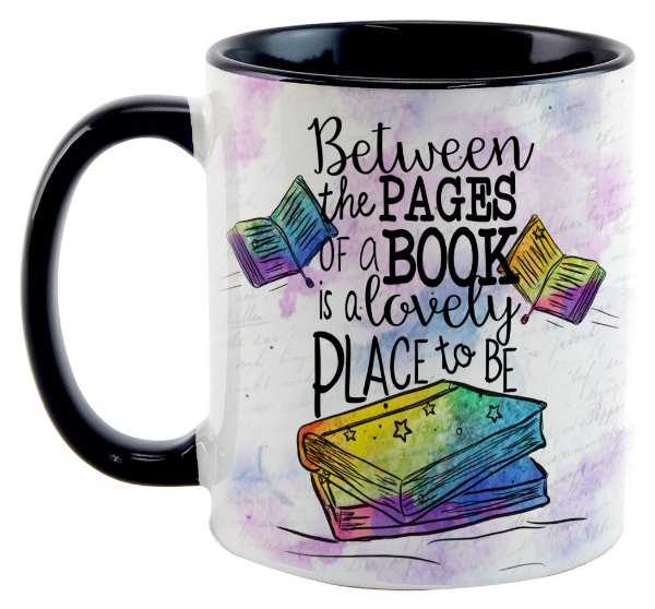 Caneca Bookstagram - Lovely Place to Be