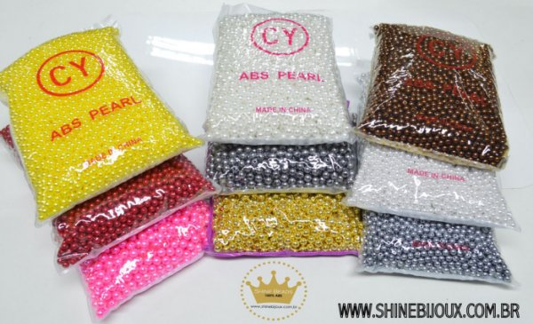 Pérola ABS 8mm Shine Beads®