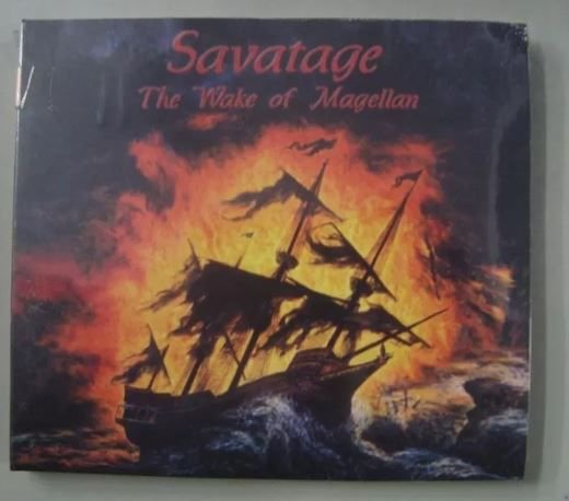 Cd - Savatage - The Wake Of Magellan