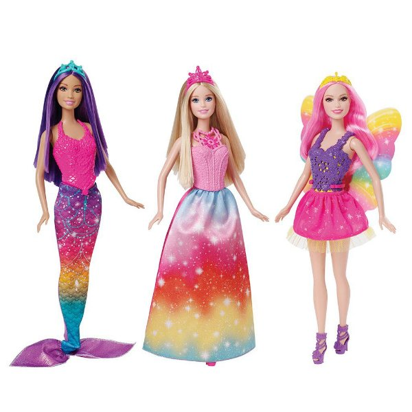 Barbie Mix e Match Trio Encantado - Mattel