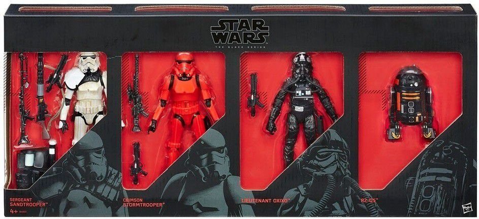 Star Wars Imperial Forces Black Series Pack Exclusivo - Hasbro