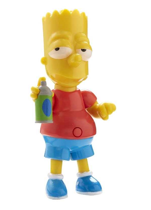 The Simpsons Bart Simpson Talking Figure 25 Years Multikids