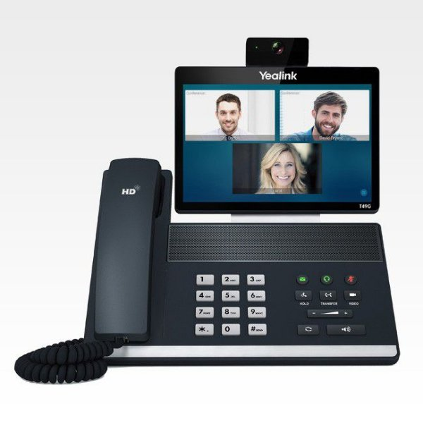 Telefone IP Yealink SIP VP-T49G Vídeo Phone