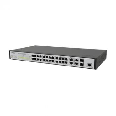 Switch Rack Gerenciável 24 Portas P Fast e 4P Giga Ethernet com 2 P Mini GBIC SF 2842MR - Intelbras