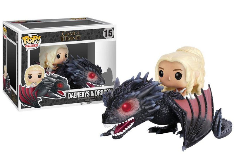 Funko Pop - Daenerys Targaryen com Drogon - Game of Thrones